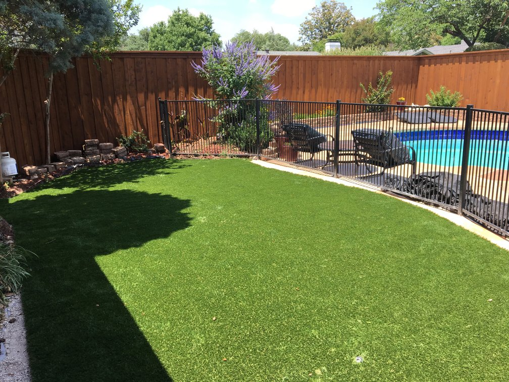Synthetic turf in your backyard